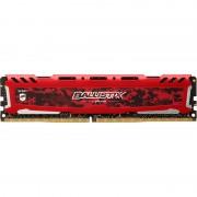 Ballistix Sport LT DDR4 8Gb 2400MHz Roja(BLS8G4D240FSE)