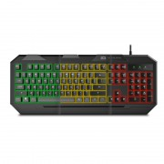 Teclado Gaming BG Fox Membrana Multicolor (BGFOX)