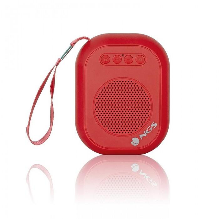 Altavoz NGS Mini Portátil Bluetooth 3W (ROLLER DICE RED