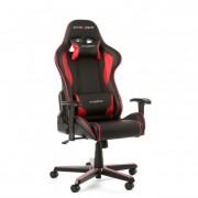 Silla Gaming DxRacer Negro/Rojo (OH/FL08/NR)