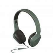 Auriculares ENERGY MIC Diadema Verde (428380)